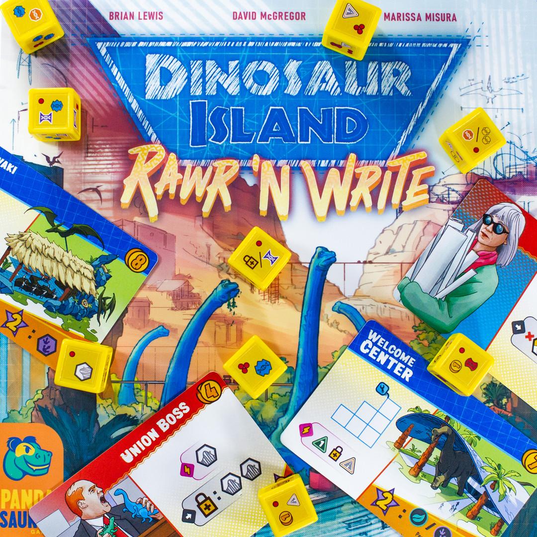Dinosaur Island - Rawr & Write