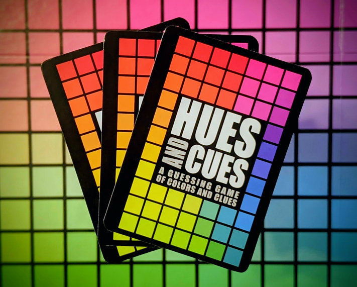 Hues & Cues Artistic Board Game Photograph