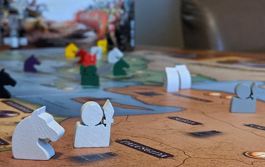 Conqueror Board Game: Overview Photo