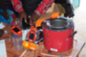 2020 solar lamps for food beneficiaries