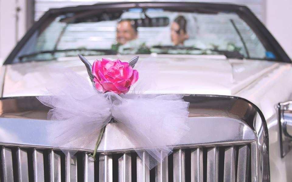 macchina rosa