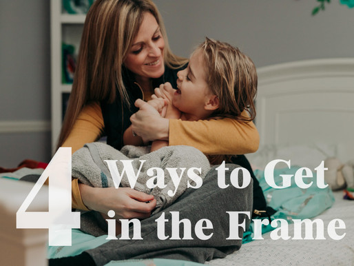 4 Ways to Get in the Frame | The Best Gift For Our Children | Pittsburgh PA Family Photographer