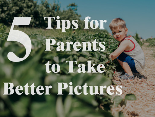 5 Tips for Parents to Take Better Pictures | Pittsburgh PA Family Photographer