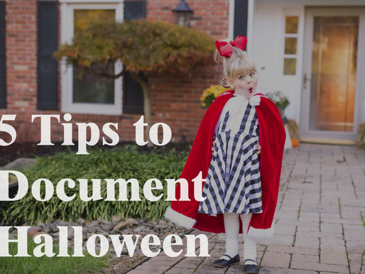5 Tips to Document Halloween | Pittsburgh Family Photographer
