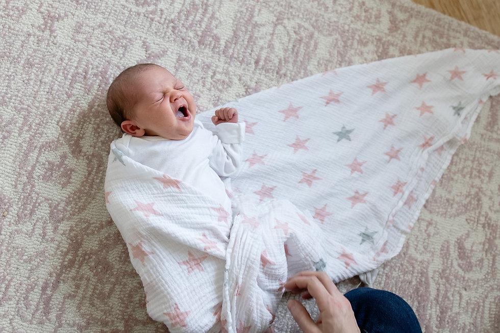 newborn-baby-girl-yawning-pittsburgh-new