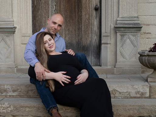 Maternity Photos at Hartwood Acres