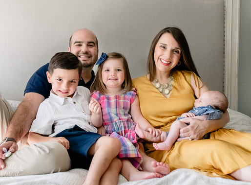 Connor Matthew | Newborn Photos + Film | Chagrin Falls, OH