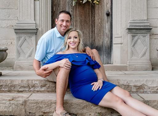 M Family Maternity Mini Session | Hartwood Acres Mansion