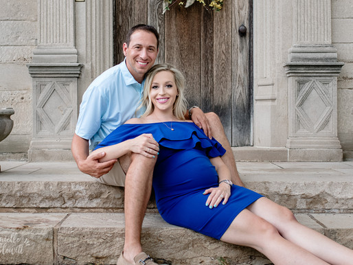 M Family Maternity Mini Session | Hartwood Acres Mansion