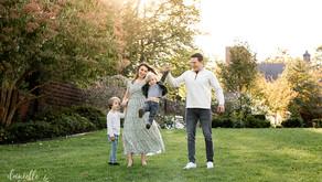 Fun Family Photos at Mellon Park | B Family | Mini