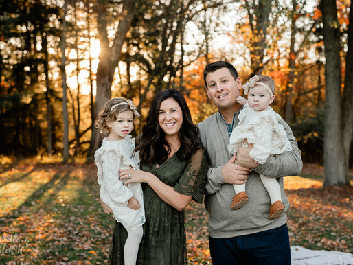Fall Family Photos at Hartwood Acres | B Family