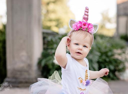 Gia Turns One | Milestone Photos at Hartwood Acres Mansion