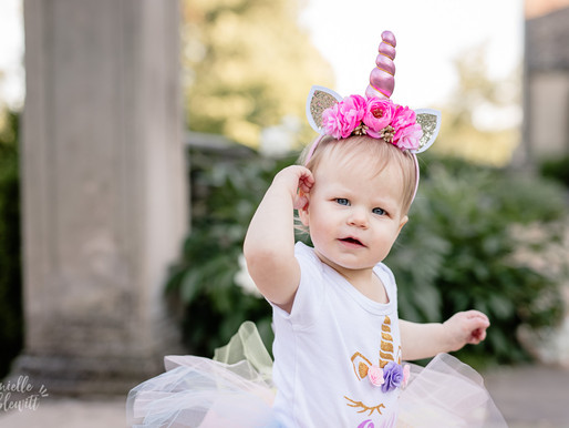 Gia Turns One | Milestone Photos at Hartwood Acres Mansion