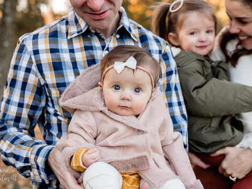 Fall Family Photos at Hartwood Acres Mansion