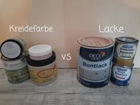 Kreidefarbe vs. Lacke - Pro & Contra