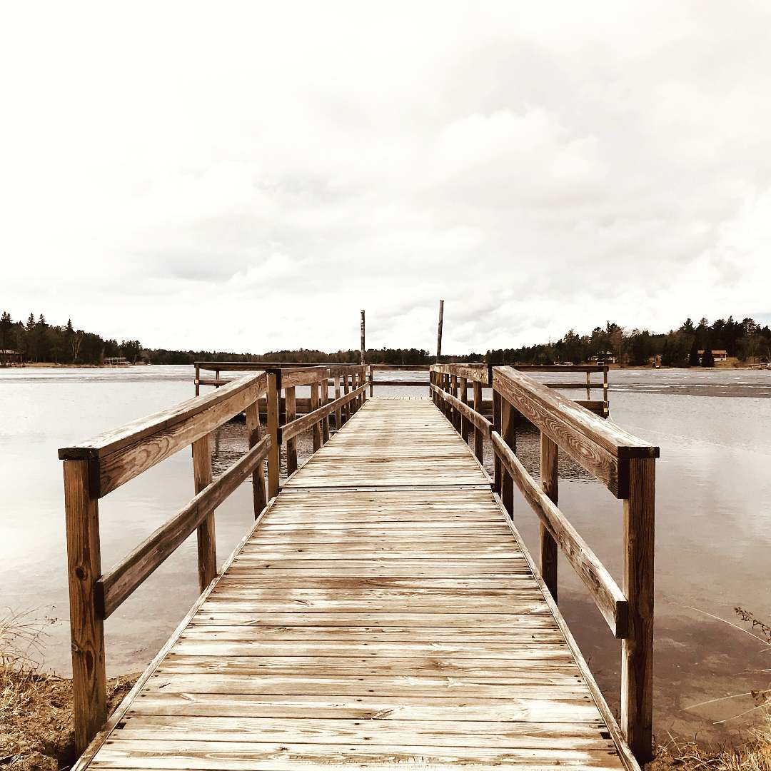 Belle Taine Lake Access Dock