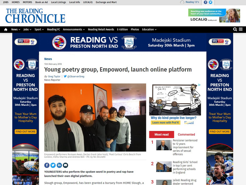 The Reading Chronicle