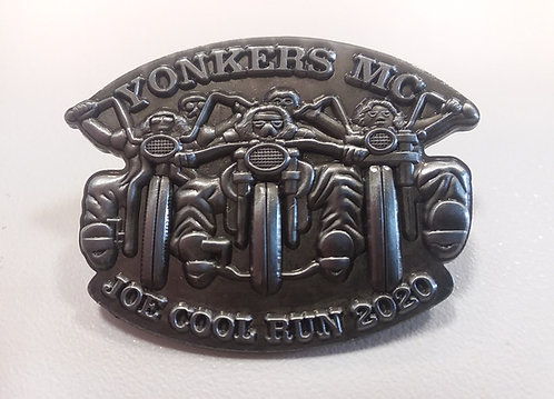 Yonkers MC Joe Cool Pin