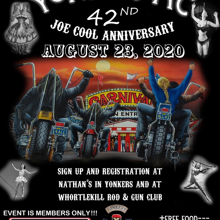 Yonkers MC 42nd Annual Joe Cool Anniversary Memorial Run