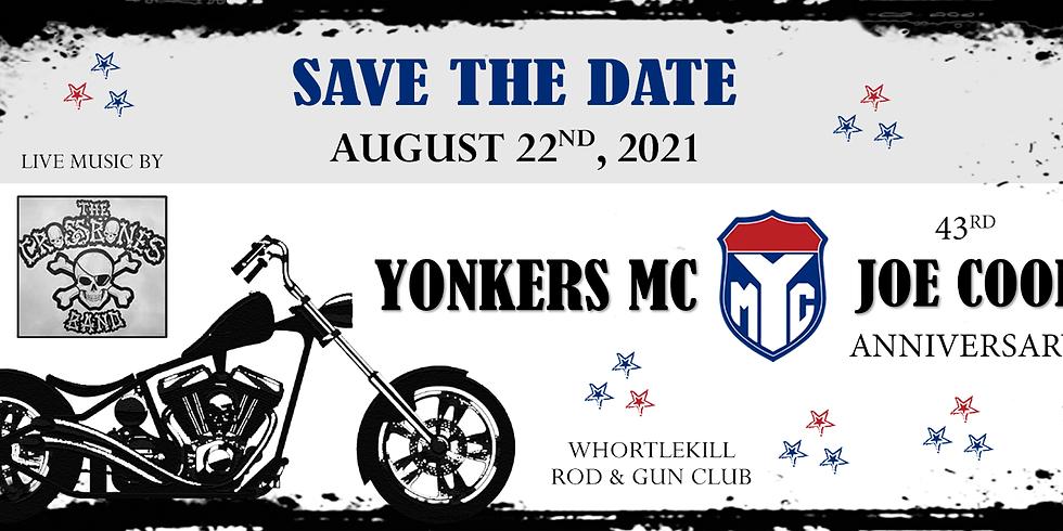 Yonkers MC 43rd Annual Joe Cool Anniversary Memorial Run POSTPONED AUG 29TH