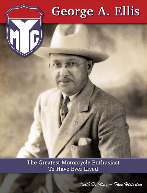 Paperback Book: Yonkers Motorcycle Club Founder George Ellis