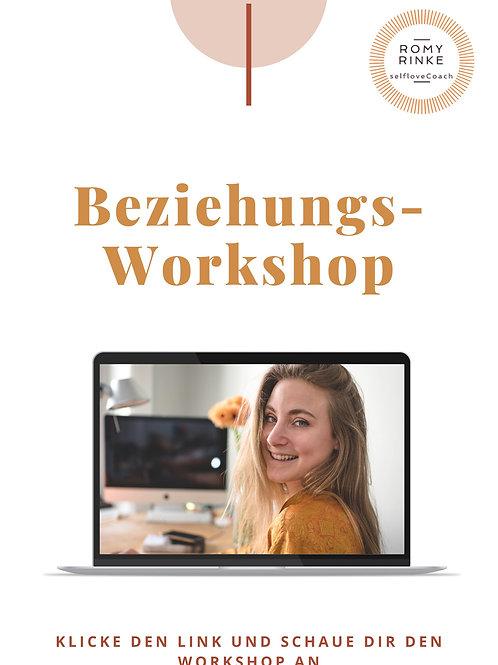 Endlich wieder glücklich in deiner Beziehung - Ein Workshop