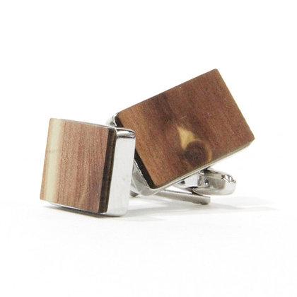 Custom Engraved Wooden Cufflinks