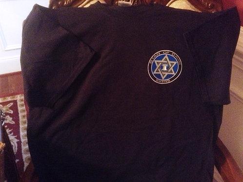 Star of David Bikers Short Sleeve T-Shirt