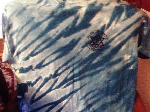 Star of David Bikers Short Sleeve Tie Dye T-Shirt