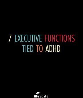 The Seven Executive Functions