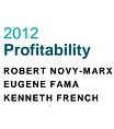 Financial profitability