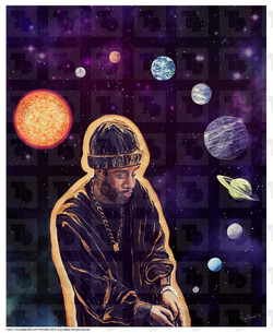 J.Dilla Poster - 'J.Dilla In The Endless World'