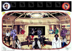 Soul Music Legends Poster - 'The Mothership'