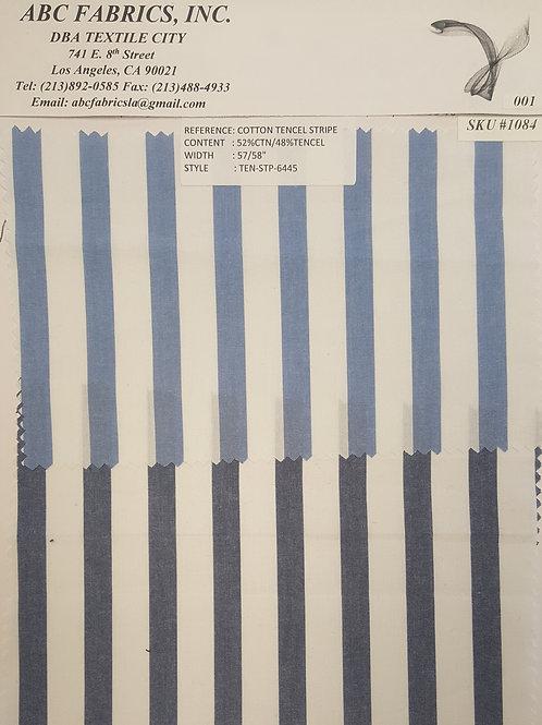 Cotton Tencel Stripe # 1084