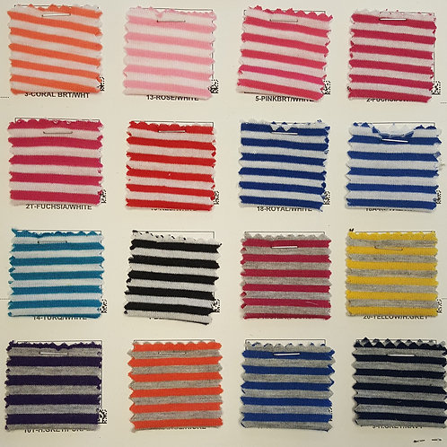 Poly Rayon Stripe # 1708