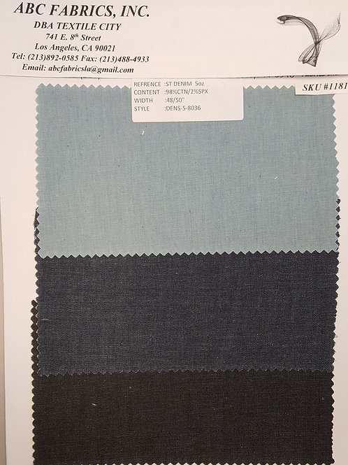 ST Denim 5oz # 1181