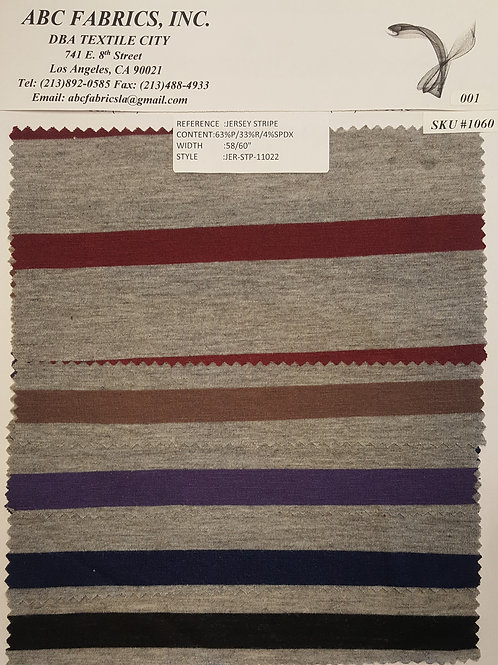 Jersey Stripe # 1060