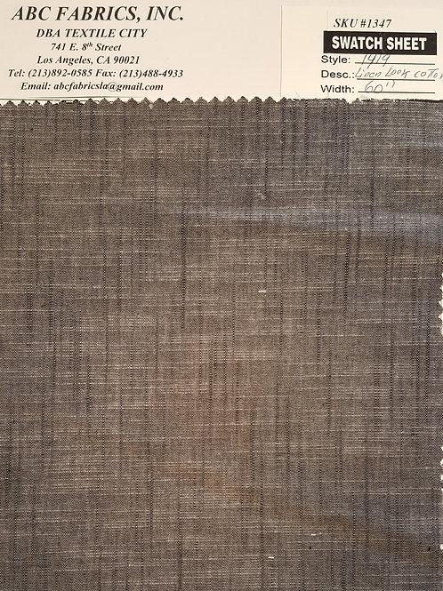 Linen Cotton #1347