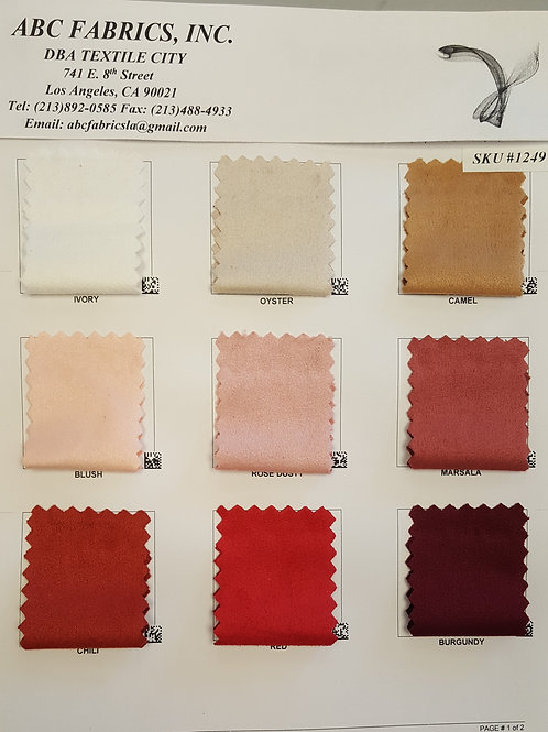 Micro Suede 1 # 1249