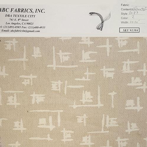 Linen Cotton # 1384