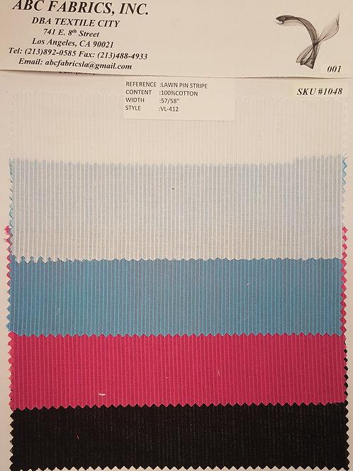 Lawn Pin Stripe # 1048