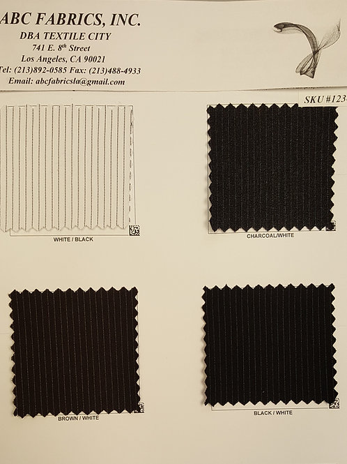 Pin Stripe Millenium # 1234