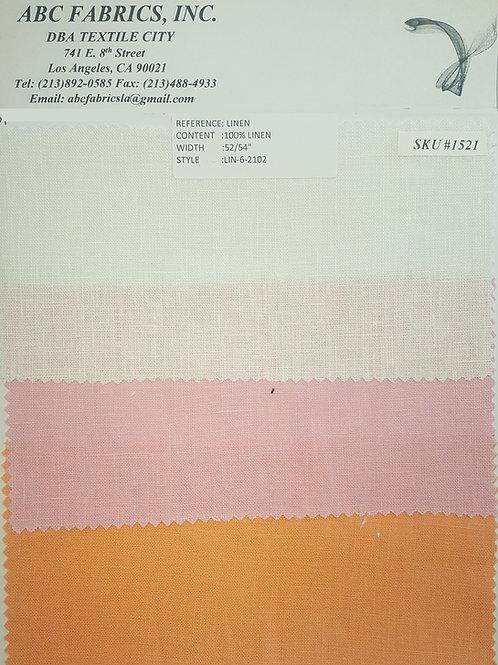Linen # 1521