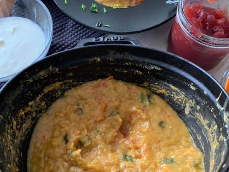 体にとっても良い料理 レンズ豆のスープ