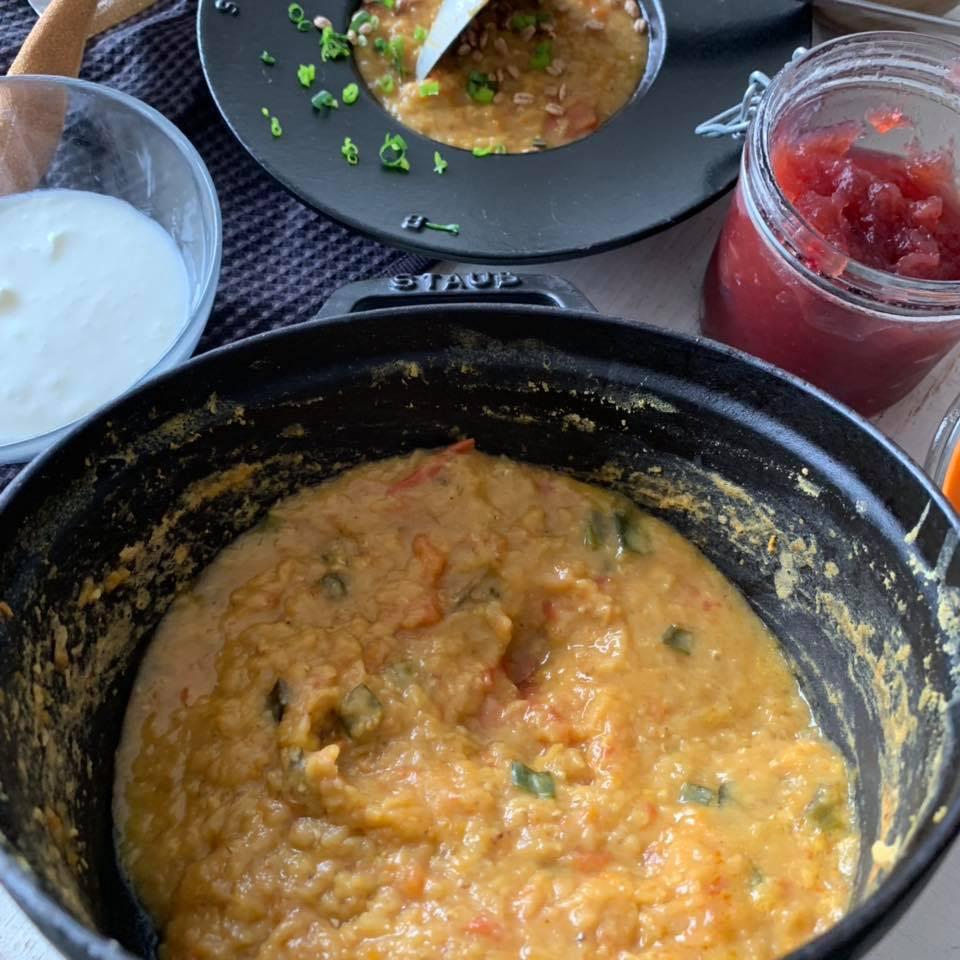 トルコ料理 レンズ豆のスープ