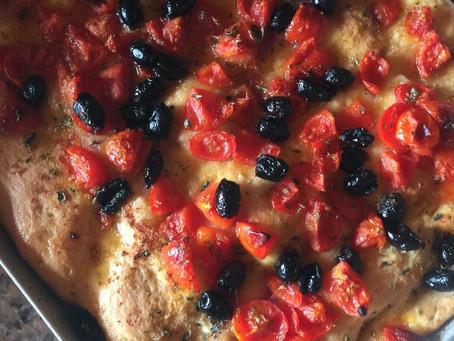 少ないイーストで南イタリアの本物のピザ