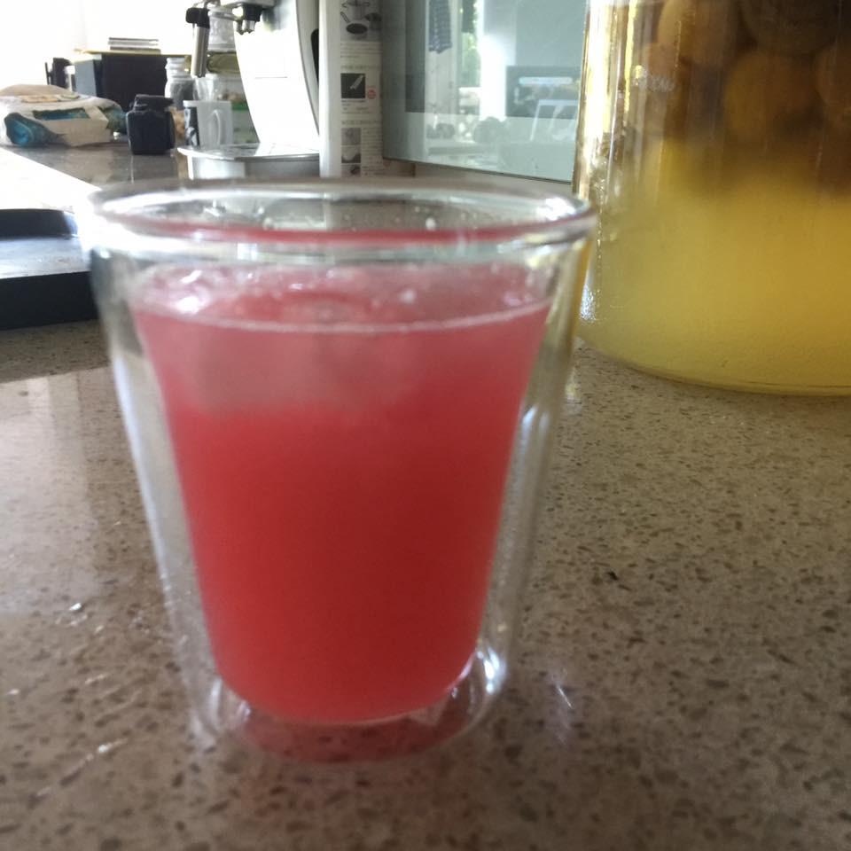 レモン100パーセント 紫蘇ジュース