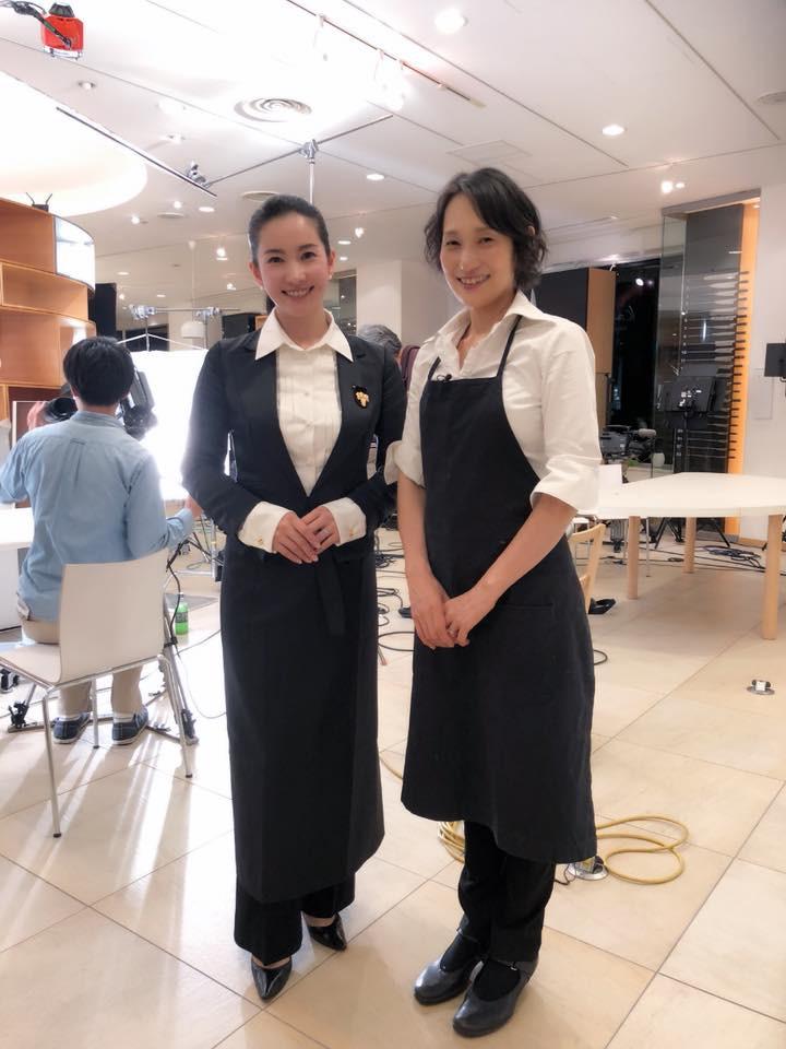 ワインソムリエ柳沼淳子さんと料理家藤野幸子