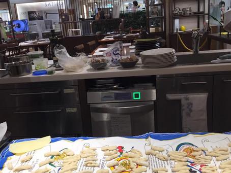 日本橋三越本店はじまりのカフェ春いっぱいのイタリアン終了しました