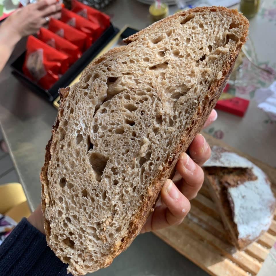 シンプルでおいしいこねないパン